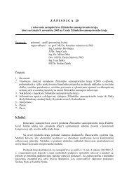 25. zasadnutie - 09. 11. 2005 - Žilinský samosprávny kraj