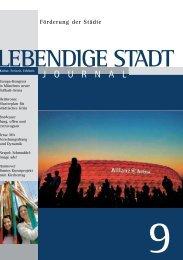 Journal 09 zum downloaden (PDF 3,9 MB - Lebendige Stadt