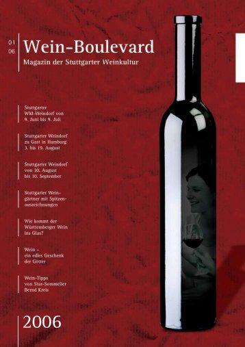 Der Wein - Pro Stuttgart