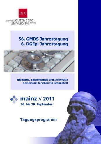 2 011 - IMBEI - Johannes Gutenberg-Universität Mainz