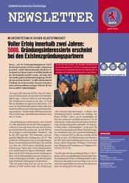 NEWSLETTER - Wirtschaftsförderung Wetterau GmbH