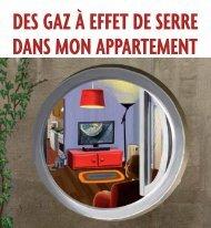 des gaz à effet de serre dans mon appartement - Coach Carbone