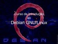 Curso de Introdução ao Debian GNU/Linux