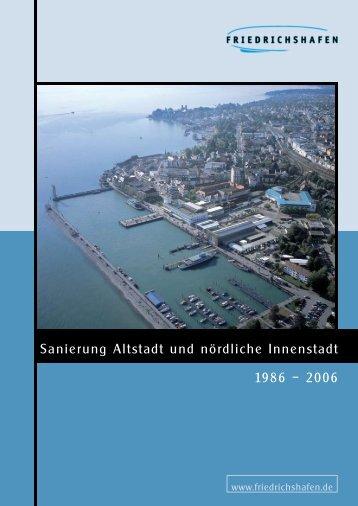 Sanierung Altstadt und nördliche Innenstadt 1986 ... - Friedrichshafen