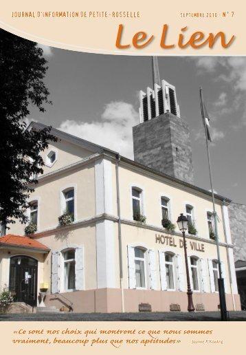 Le Lien n°7 - Site de la Mairie de Petite-Rosselle