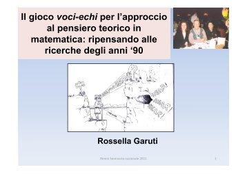 Garuti parte III - Seminario Nazionale di Ricerca in Didattica della ...