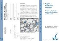 B-wfg Logistik im Wandel - Wirtschaftsförderung Rhein-Erft GmbH
