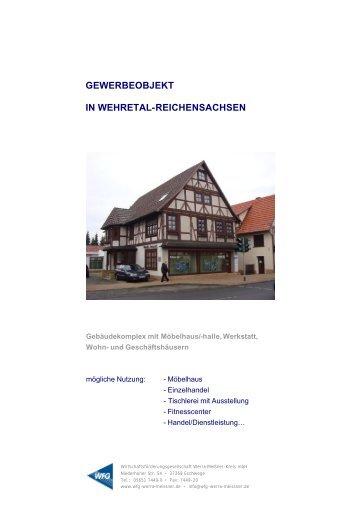 Das Objekt - Wirtschaftsförderungsgesellschaft Werra-Meißner
