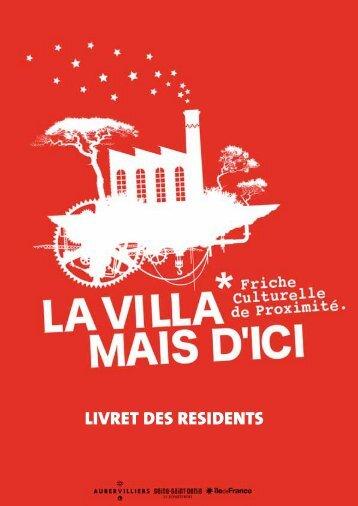LIVRET DES RESIDENTS - Ville d'Aubervilliers