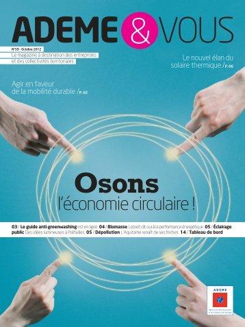 l'économie circulaire ! - ADEME presse