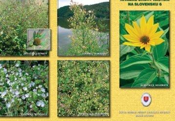 Invázne druhy rastlín na Slovensku 6 (pdf)