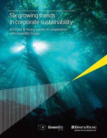 six key trends in corporate sustainability - D'Dline 2020
