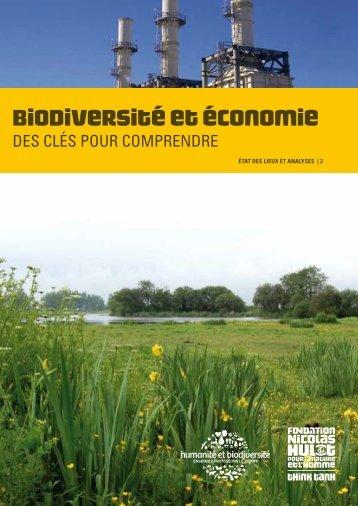 biodiversité et Économie - D'Dline 2020
