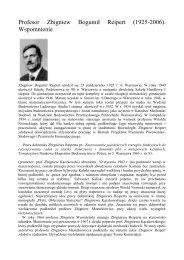 Zbigniew Reipert - Wydział Inżynierii Lądowej