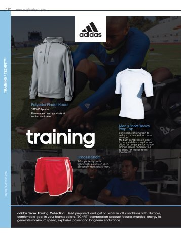 "TRAINING / TECHFITâ""¢ Princess Short Polyester ... - adidas Team"