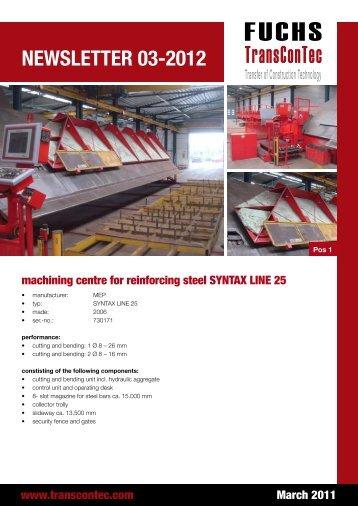 Newsletter 03-2012
