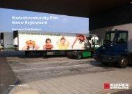 Stedenbouwkundig Plan Nieuw Reijerwaard - Provincie Zuid-Holland