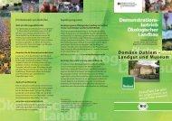 Domäne Dahlem – Landgut und Museum - Oekolandbau.de