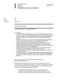 Verkeersbesluit gemeente Amsterdam, verbod ligplaats ... - Waternet