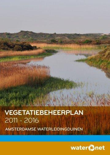 Vegetatiebeheerplan 2011 - 2016 - Waternet