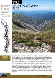Soils of the Australian Alps - Australian Alps National Parks