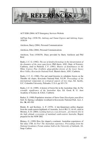 Download Fire history of the Australian Alps References ( PDF ...