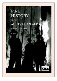 Download Fire history of the Australian Alps Chapter 1