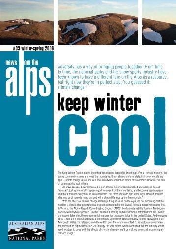 Download Newsletter number 33 ( PDF - 880 KB ) - Australian Alps ...