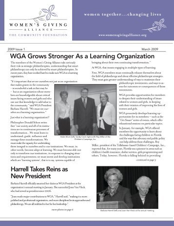 Issue 1 - The Community Foundation in Jacksonville