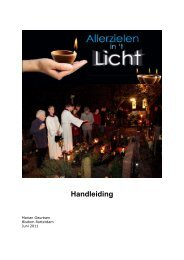 Handleiding Allerzielen in 't Licht.pdf - Bisdom Rotterdam