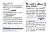 Ron d Zen d in g - Bisdom Rotterdam