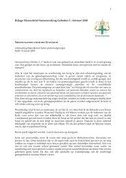 inleiding van de heer Peeters - Bisdom Rotterdam