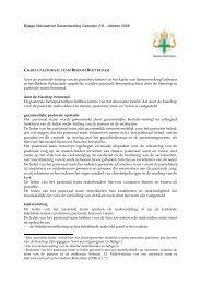 Charta pastoraal team - Bisdom Rotterdam