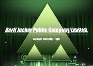 2.34 MB. - Berli Jucker Public Co. Ltd.