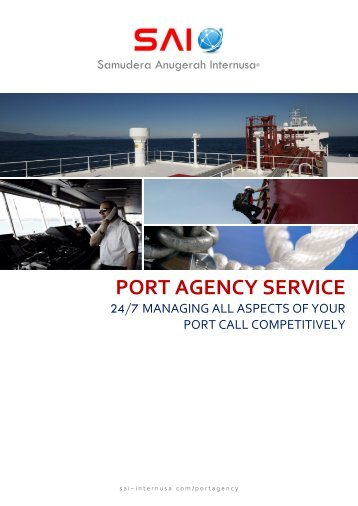 PORT AGENCY SERVICE - Download Brochure