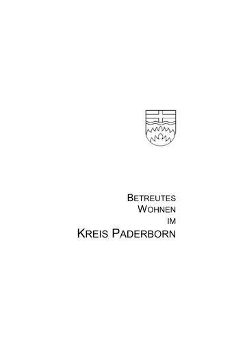 Betreutes Wohnen im Kreis Paderborn