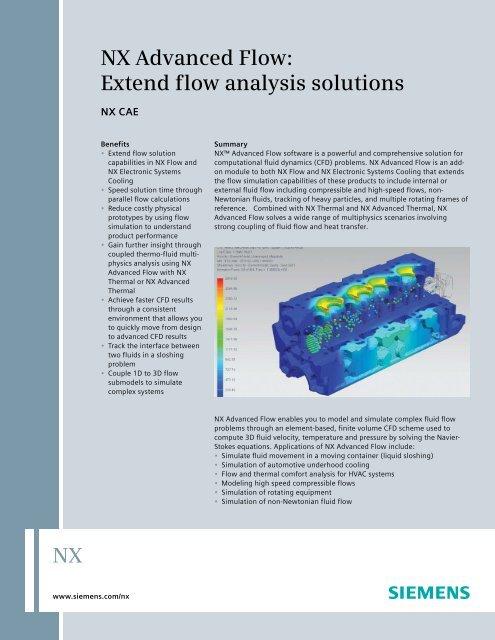 NX Advanced Flow Fact Sheet pdf - Maya HTT