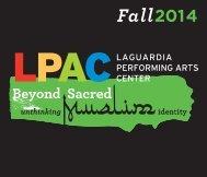 LPAC Beyond Sacred brochure