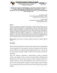 desenvolvimento territorial e políticas públicas para o campo - LAGEA