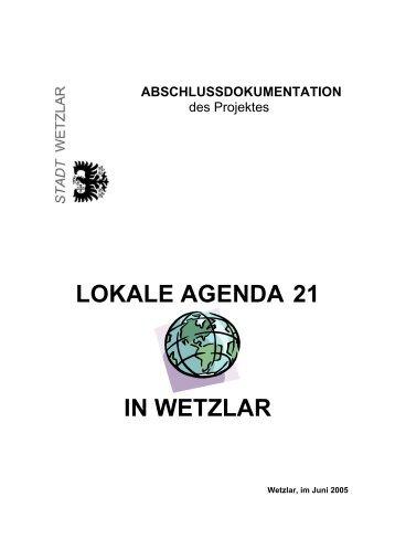 LOKALE AGENDA 21 IN WETZLAR