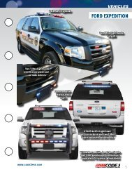 FORD ExPEDITION - Code 3 Public Safety Equipment