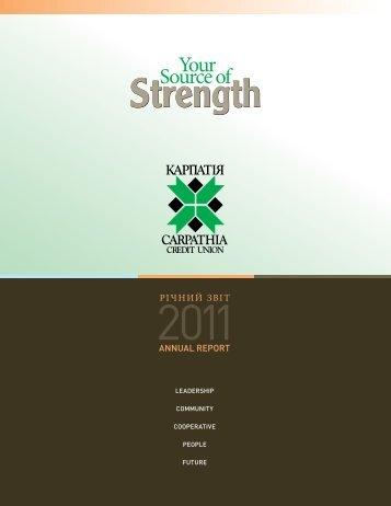 Strength - Carpathia Credit Union