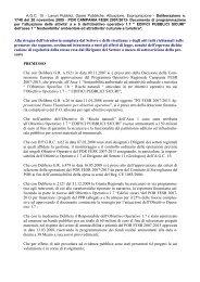 POR CAMPANIA FESR 2007/2013- Documento di programmazione ...