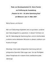 070314- Passion for Art - Bundespräsident