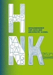 Handbuch Nachhaltiger Konsum - AStA Universität Kassel