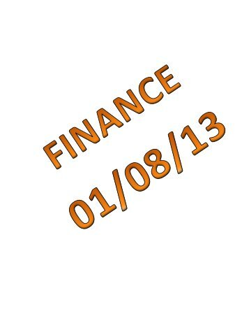 01/08/13 Mauston Finance and Purchasing Committee Agenda Packet