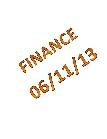 06/11/13 Mauston Finance and Purchasing Committee Agenda Packet