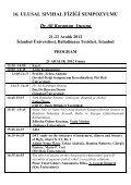 16.Ulusal Sıvıhal Fiziği Sempozyumu - Piri Reis Üniversitesi - Page 4