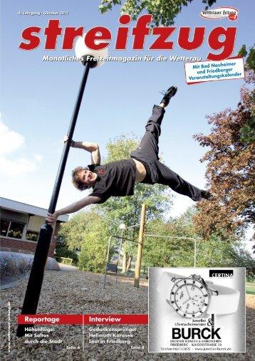 Streifzug WZ 10 2011 - Wetterauer Zeitung