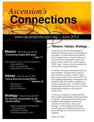 2012 JUNE Newsletter - The Lutheran Church of the Ascension